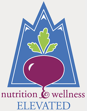 Nutrition and Wellness Elevated Logo